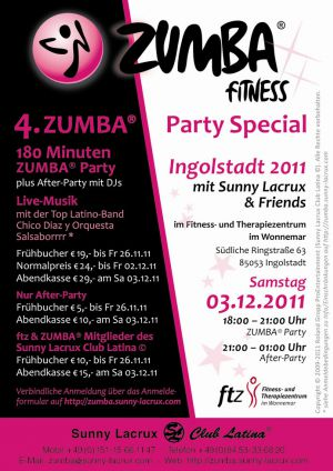 4. ZUMBA® Party Special Ingolstadt 2011