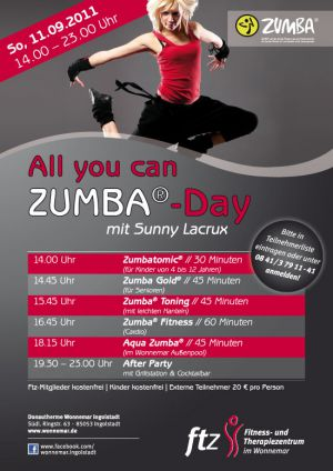 All you can ZUMBA-Day